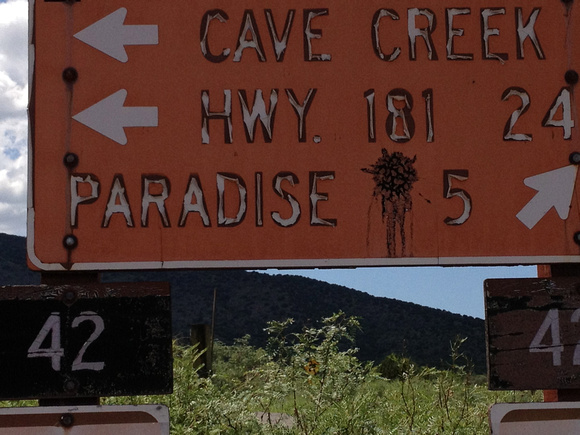 Paradise can wait- Cave Creek here we come!